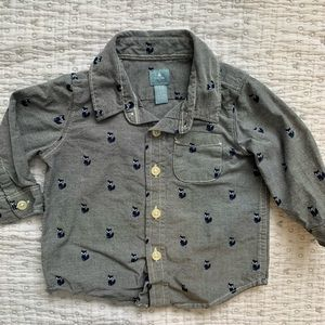 Button down shirt from Baby Gap
